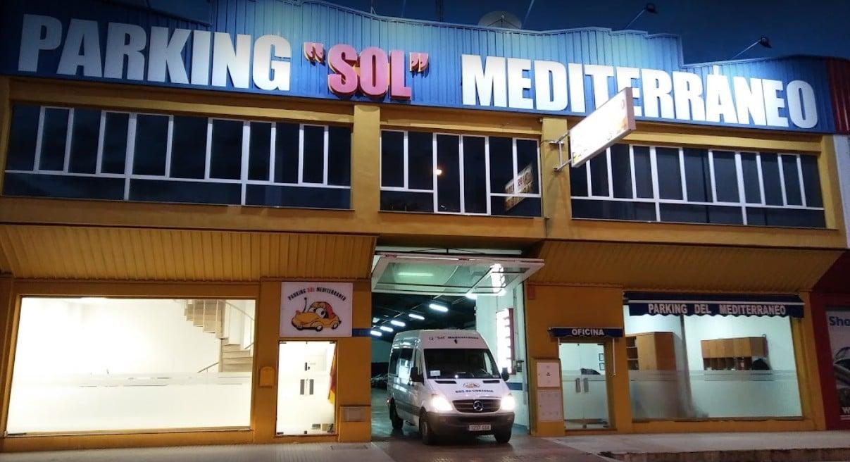 Parking Sol Mediterraneo Portada
