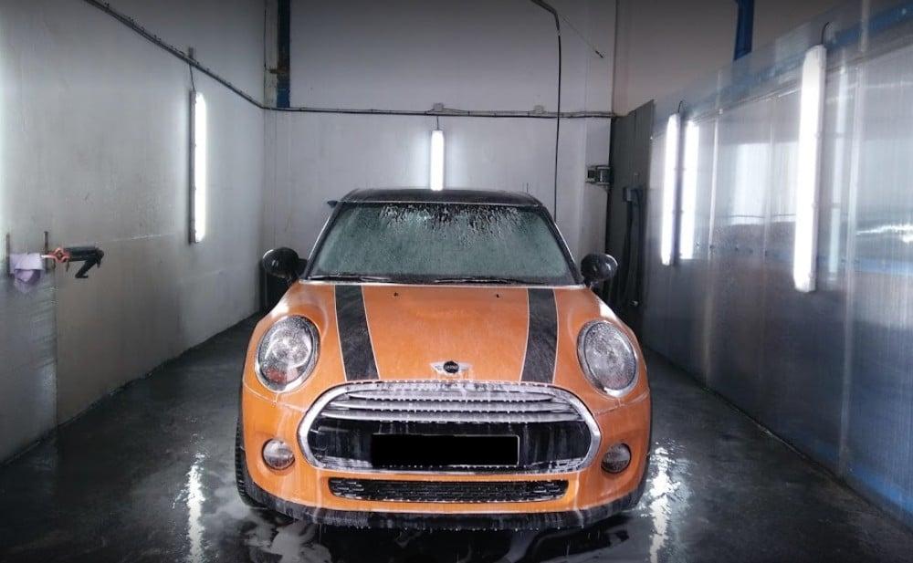 servicio lavado coche parking sol