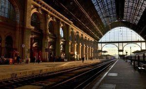 Estaciones de tren antiguas en centroeuropa
