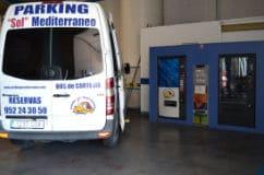 furgonetas parking malaga